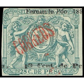 1899 ED. Fernando Poo 47Fh * (2)