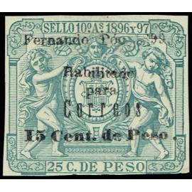 1899 ED. Fernando Poo 47Ghea *