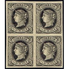 1864 ED. Cuba 12 * [x4]