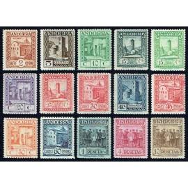 1935 ED. Andorra 28d/43da **