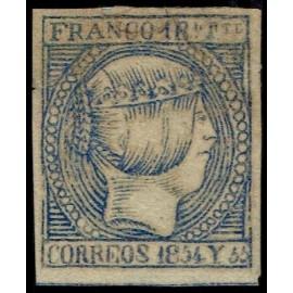 1854 ED. Filipinas 3 * (2)