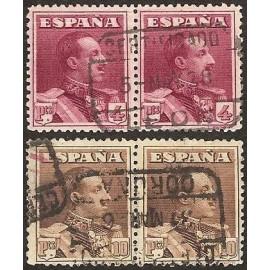 1922 ED. 322/323 us [x2]