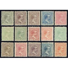 1891 ED. Puerto Rico 86/100 * (2)