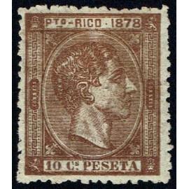 1878 ED. Puerto Rico 19 * (3)