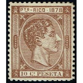 1878 ED. Puerto Rico 19 * (2)