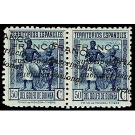 1937 ED. Guinea Locales 14hh ** [x2]