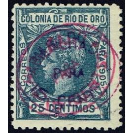 1907 ED. Río de Oro 17hha *