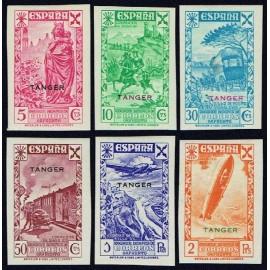 1938 ED. Tánger Beneficencia 6s/11s *