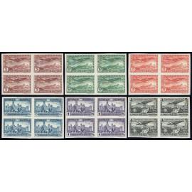 1931 ED. 614s/619s * [x4]