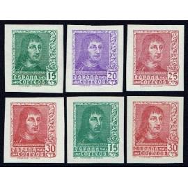 1938 ED. 841s/844s, 841As, 844As ** (2)