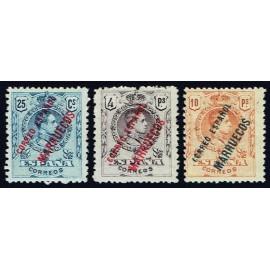 1909 ED. Tánger NE 1/3 *