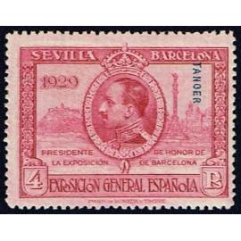 1929 ED. Tánger 46d *