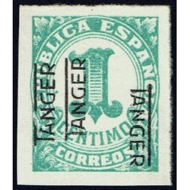 1937 ED. Tánger 85hhhi (*)