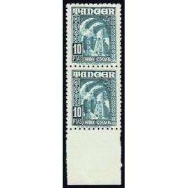 1948 ED. Tánger 164 + 164e **