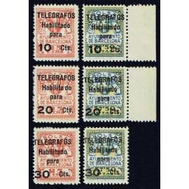 1945 ED. Barcelona - Telégrafos NE1/NE6 **
