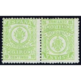 1911 ED. Giro Postal 2ii *
