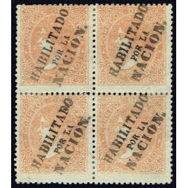 1868 ED. 089A * Madrid (N) [x4] (2)