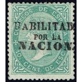 1868 ED. 091 * Madrid (N)