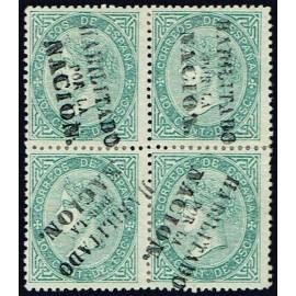 1868 ED. 091 + 091hi * Madrid (N) [x4]