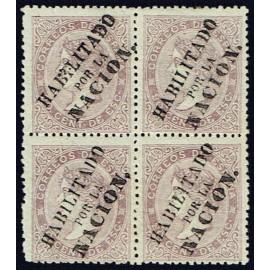 1868 ED. 092 * Madrid (N) [x4] (2)