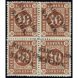 1868 ED. 094 * Madrid (N) [x4]