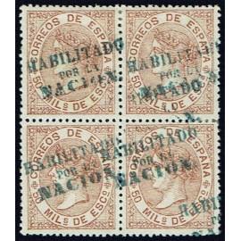 1868 ED. 096 * Madrid (A) [x4]