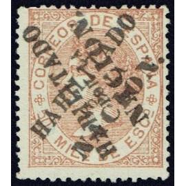 1868 ED. 096hh * Madrid (N)
