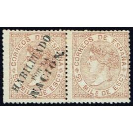 1868 ED. 096hph * Madrid (N)