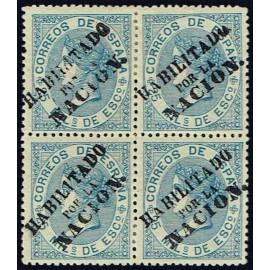 1868 ED. 097 * Madrid (N) [x4]