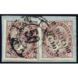 1868 ED. 098 us Madrid (N) [x2]