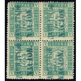1868 ED. 093 * Andalucía (A) [x4]