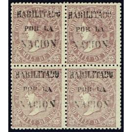1868 ED. 098 * Valladolid (N) [x4]