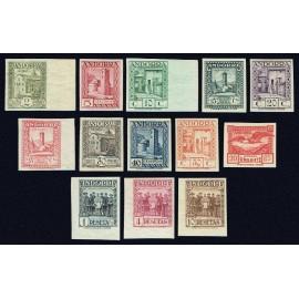 1929 ED. Andorra 15s/27s *