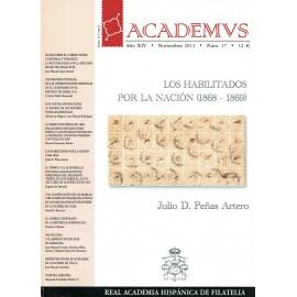 ACADEMVS 2013/17 - HABILITADOS POR LA NACIÓN (1868-1869)