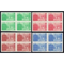 1941 ED. Marruecos Beneficencia 13s/16s ** [x4]