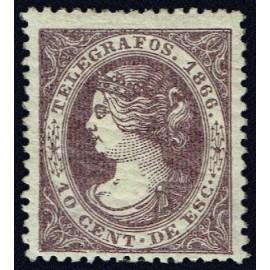 1866 ED. Telégrafos 13a *