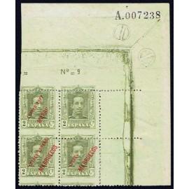 1923 ED. Tánger 17hph (*) [x4]