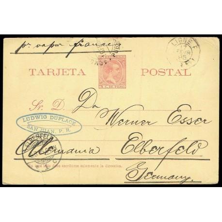 1894 ED. 06 us Enteros Postales Puerto Rico