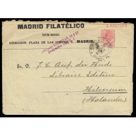 1910-1924 ED. 09 us Enteros Postales Privados