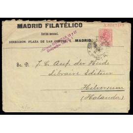 1910-1924 ED. 09 us Enteros Postales Privados