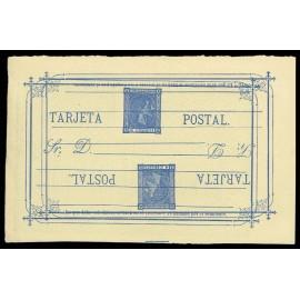 1875 ED. 8ea * Tarjetas Entero Postales