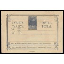 1875 ED. 8eb * Tarjetas Entero Postales