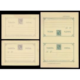 1882 ED. 10/12 * Tarjetas Entero Postales