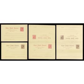 1884 ED. 15/18 * Tarjetas Entero Postales