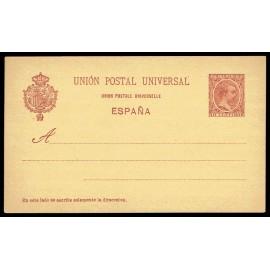 1892 ED. 31ce * Tarjetas Entero Postales