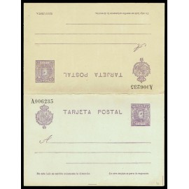 1904 ED. 46 * Tarjetas Entero Postales