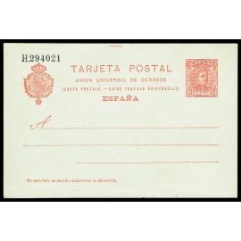 1904 ED. 47 * Tarjetas Entero Postales
