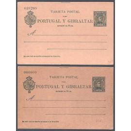 1903 ED. Tarjetas Entero Postales 43/43N *