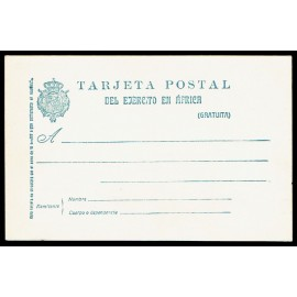 1927 ED. 3 * Tarjetas Militares