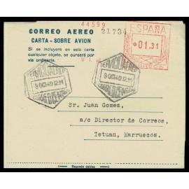 1947-1952 ED. 2E us Aerogramas